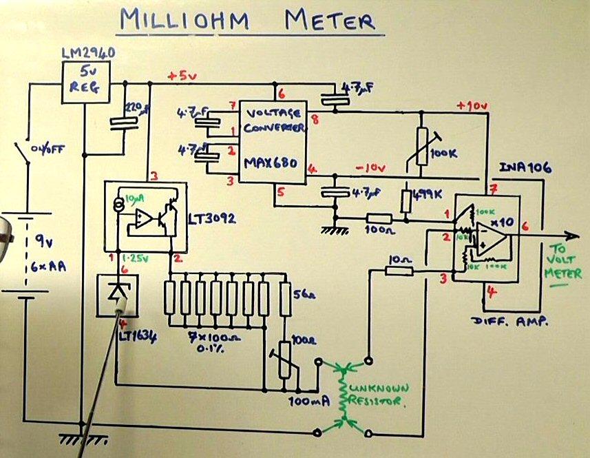 Design & Build a Milliohm Meter – Scullcom